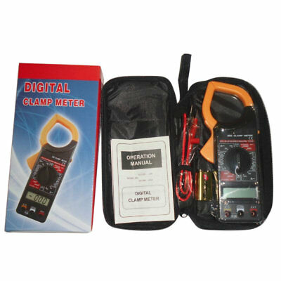Digital Multimeter DC AC Voltage Current Tester Ammeter Voltmeter Ohm Meter TH
