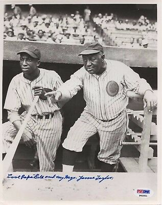 James Cool Papa Bell Signed & Inscribed Psa/Dna 8X10 Photograph Autograph P92951