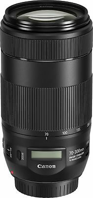 New Canon EF 70-300mm f/4-5.6 IS II USM