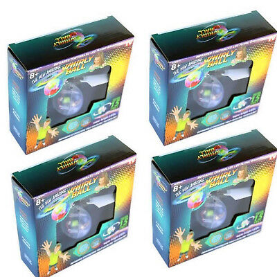 4pcs Whirly Ball Infrared Controlled LED Flying Ball Up To 15' USB Charge Toy