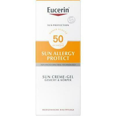 EUCERIN Sun Allergie Gel 50+ 150 ml 07415483