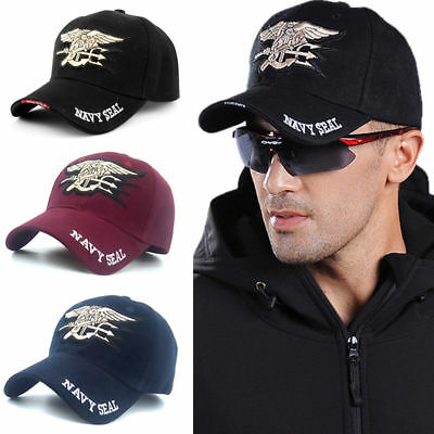 Navy Seal Embroidery Baseball Cap Tactical Cap Letter Military Snapback Hat