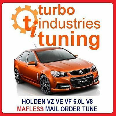 Commodore Vz Ve Vf 6.0L V8 Mafless Tune Gen Iv 350Kw L76 L98 L77  Mail Order