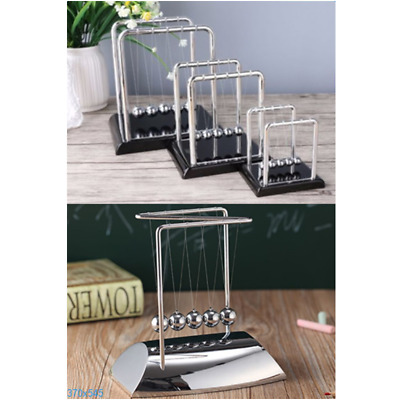 Newtons Classic Cradle Kinetic Balls Executive Educational Toy Office Desk Toys