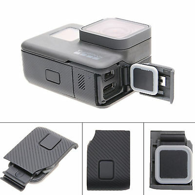 Replacement Side Door HDMI Port USB Side Cover Cap Repair Part for GoPro HERO 5