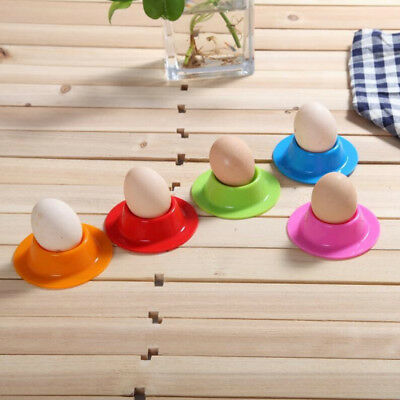 Set of 4 Silicone Egg Cup Holder Steam Eggs Seat Creative Silicone Egg Tools