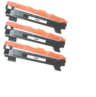 3 Toner Per Brother Tn1050 Hl1110 Mfc1810 Mfc1910 Dcp1510 1512 Dcp1515 Dcp1610