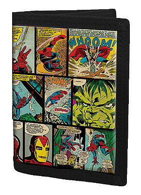 Marvel Avengers Wallet Boys Comic Money Pouch Purse