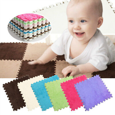 Baby Soft Foam Pattern Puzzle Mat Pad Floor Confetti Rug Carpet Crawling Room