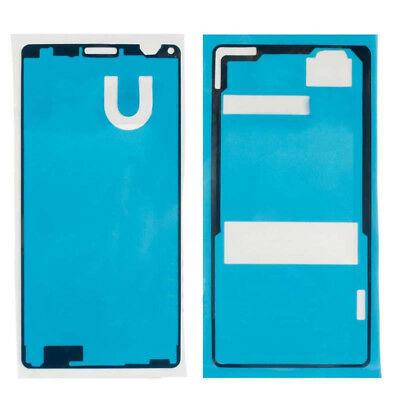 For Sony Xperia Z1 Z2 Z3 LCD Touch Screen Front +Back Sticker Tape Glue Adhesive