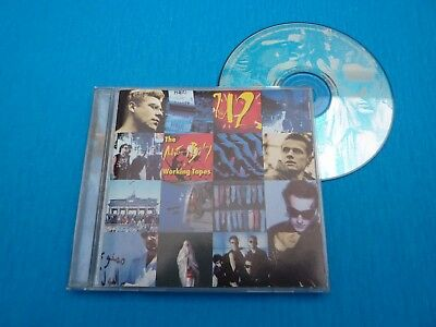 u2 achtung baby Working tapes recorded i Berlin like new CD