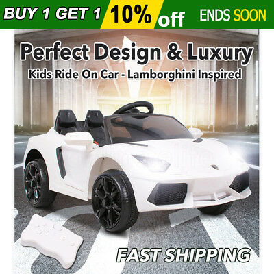 Electric Kids Ride-on Car Lamborghini Inspired Toy Remote Battery Children Gifts