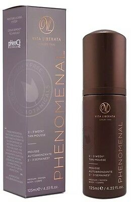 Vita Liberata Luxury Tan Phenomenal 2-3 Week Tan Mousse Medium Sale Now On