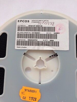 Nearly full reel 3000pcs B72510T300K62 Epcos 80A 47V 0805 series £15.00 Z1650