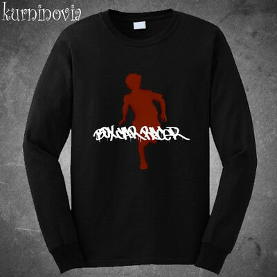 Box Car Racer Hard Rock Band Long Sleeve Black T-Shirt Size S to 3XL