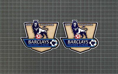 Premier League Gold Champions Patches/Badges 2008-2009 Manchester United