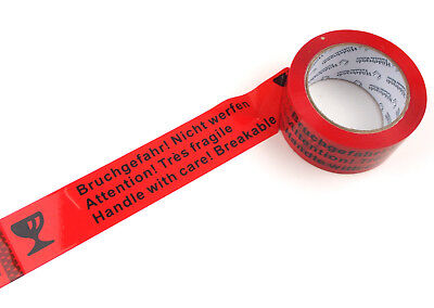 6-36 Casters Tape 66M 48mm Packing Tape Risk of Breakage! NOT THROW