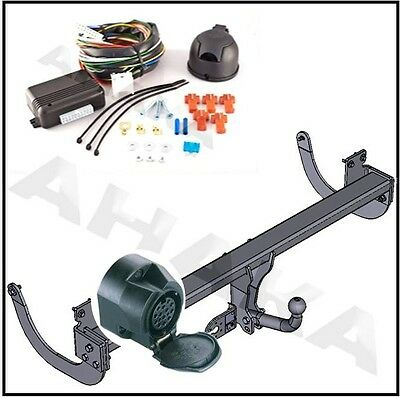 swan neck Tow Bar Hitch Towbar /& Electric 12N 7 pin Fiat Multipla 1999 to 2004