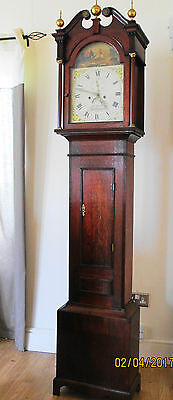 Sharp Northampton 8 Day Superb Quality Longcase Grandfather Clock Original Cond.