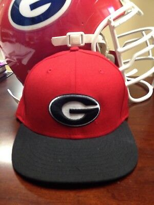 d3044ebd NEW ERA 59FIFTY Georgia Bulldogs Black/Red Fitted Hat 7 1/4 - NEW ...