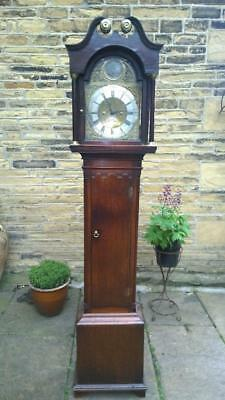 An 18th Century Oak Cased Thirty Hour Longcase / Grandfather Clock