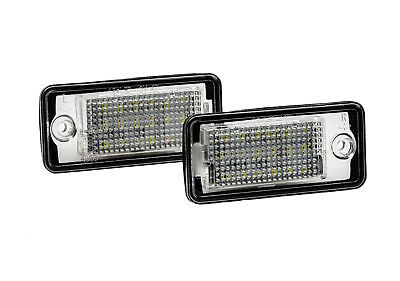 2x LED SMD COPPIA LUCI TARGA Audi A4 8H7 B6 8HE B7 Cabriolet + S4 RS RS4 (CB) IT