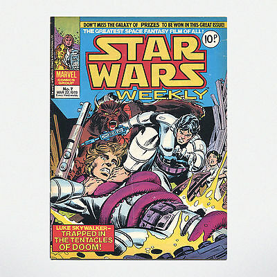 STAR WARS WEEKLY - No. 7 ( UK / 1978 ) ***VERY GOOD CONDITION***