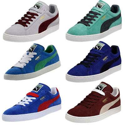 CHAUSSURES BASKETS PUMA unisexe Suede Classic + taille Bleu