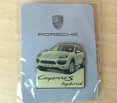 Porsche Official Cayenne S Hybrid Lapel / Hat Pin  New