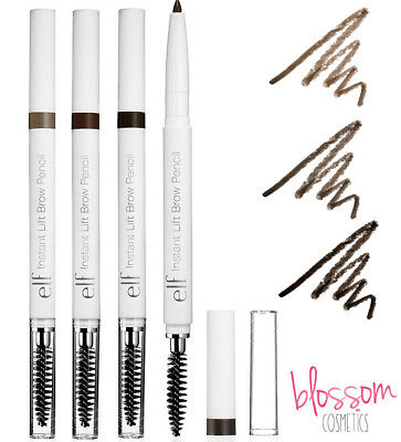elf e.l.f. INSTANT LIFT BROW PENCIL Stylist Eyebrow Brush Wand Taupe Brown Dark