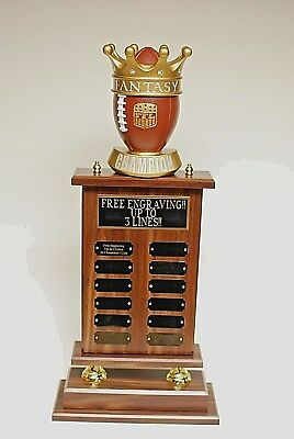 "Fantasy Football Champion Trophy 26"" 12 Year - Free Engraving! Ships In 1 Day"
