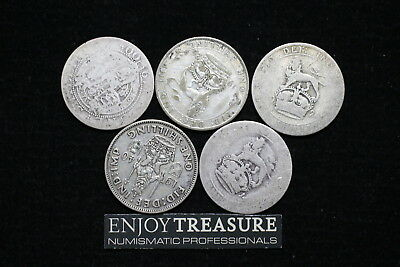 Uk Gb Silver Coins Lot A72 Zl5