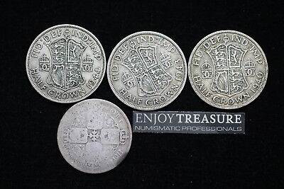 Uk Gb Silver Coins Lot A72 Zl40