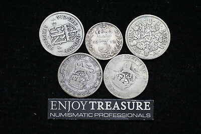 Uk Gb Silver Coins Lot A72 Zj46