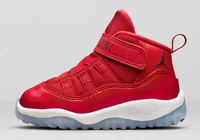 [378040-623] Air Jordan Retro 11 Xi Win Like '96 Td Toddler Gym Red 5C-10C Nib