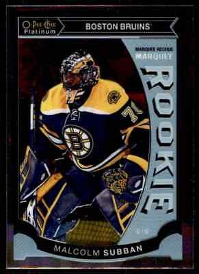 2015-16 O-Pee-Chee Platinum Marquee Rookies Malcolm Subban Rookie #M5