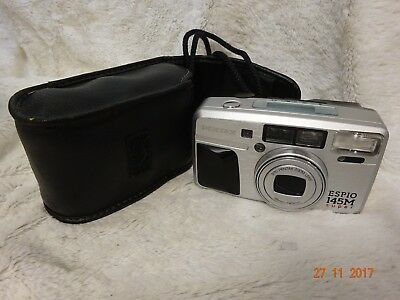 Pentax Espio 145M Super 35Mm Film Camera~Panorama~38-145Mm Lens~Timer