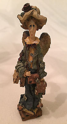 Boyds Bears Folkstone Collection LIZZIE...The SHOPPING ANGEL Figurine ~ EUC