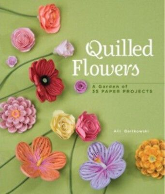 Craft Books Quilled Flowers a301920