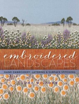Craft Books Embroidered Landscapes S4743