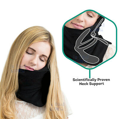 NEW Portable Scientifically Proven Super Soft Neck Support Travel Pillow Xmas AU