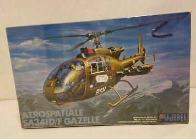 *rare*aerospatiale Sa-341D/f Gazelle 1/48 Model Kit Fujimi *factory Sealed*