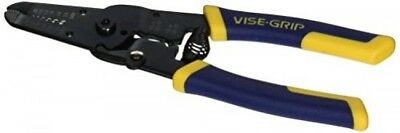 "IRWIN VISEGRIP Wire Stripper/Cutter/Crimper, 7"", 2078317"
