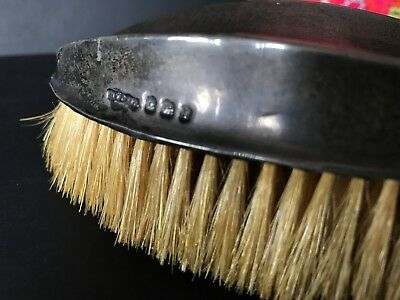 Old English Hall Marked Silver Handled Brush …beautiful accent and collection..