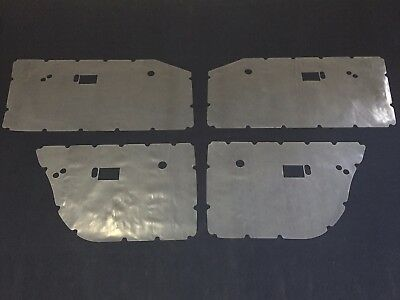 Chrysler Valiant VE VF VG Door Gasket Trim Moisture Dust Seals 200Micron Plastic