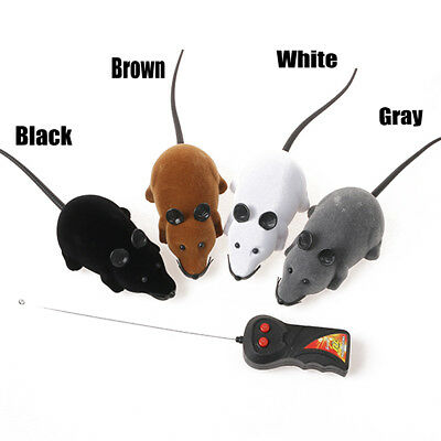 New Wireless Remote Control RC Electronic Rat Mouse Mice Toy For Cat Puppy Gift