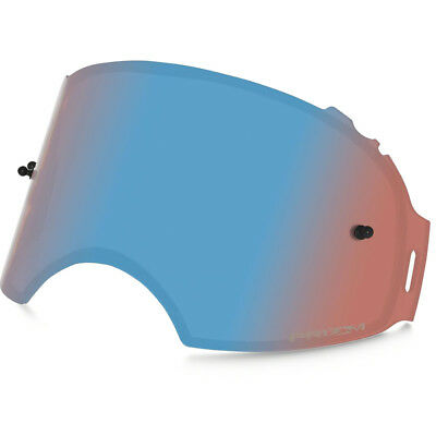 Oakley Airbrake MX NEW Tinted Blue Sapphire Prizm Goggle Replacement Lens
