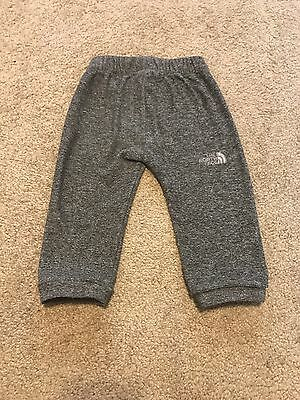 Set Of 2 THE NORTH FACE INFANT GLACIER PANT Size 6-12 Months Color Dark Grey