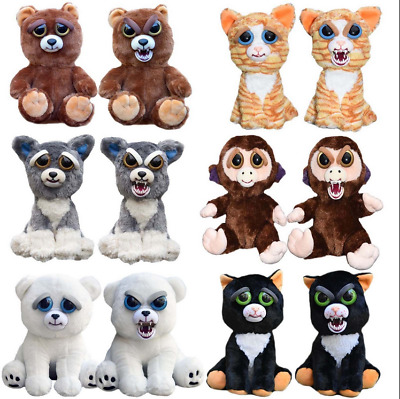 Feisty Plüsch Tiere Pets Expression Stuffed Scary Face Toy Animal Weinachten Neu