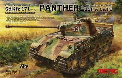 Meng Model 1/35 TS-035 Sd.Kfz.171 Panther Ausf.A Late
